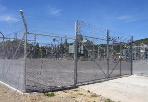 Chainwire security Fence & Gate