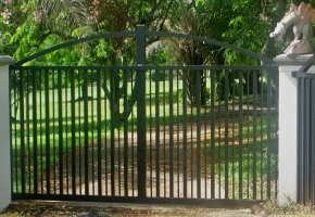 Arched 50Sq Sliding Gate