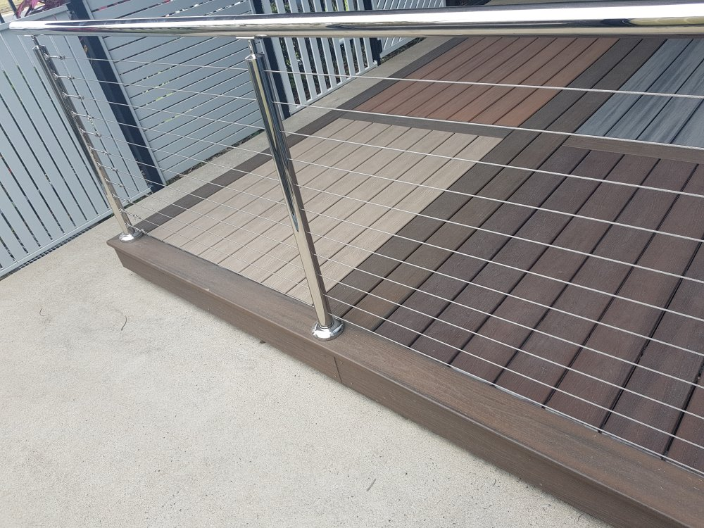 Stainless Steel Wire Balustrading Arnel Fencing Cairns