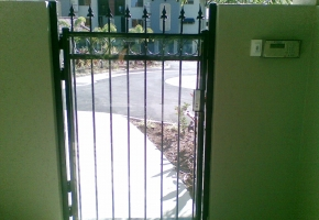 Enclosed ring Spear S Gate