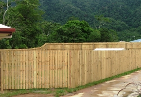 Timber Fence & D Gate